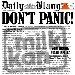 Milk Kan - Don't Panic download single (August 2009)